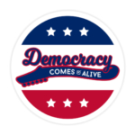 Democracy Comes Alive Sticker